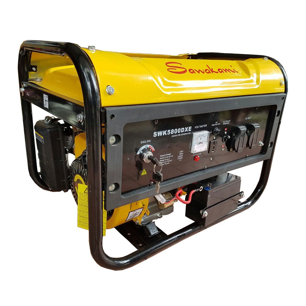 Generator Listrik Bahan Bakar Solar